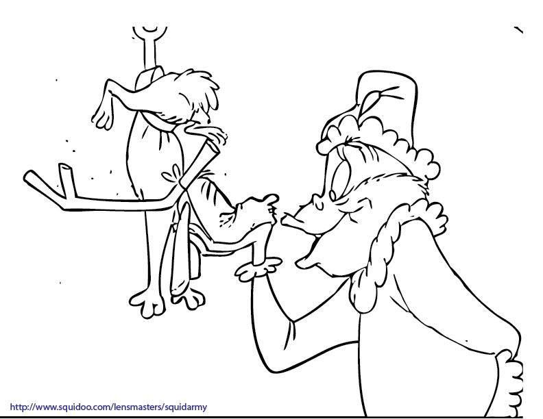 How The Grinch Stole Christmas Coloring Pages - Free Coloring - AZ ...
