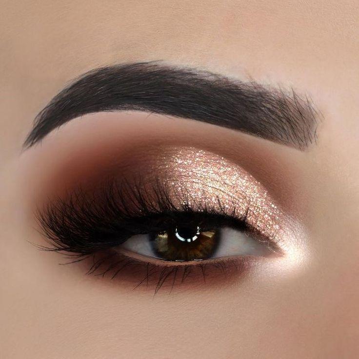 Dorado noche #maquillaje #makeup,  #Dorado #makeupdenoche #Makeup #Maquillaje #Noche #goldmakeup
