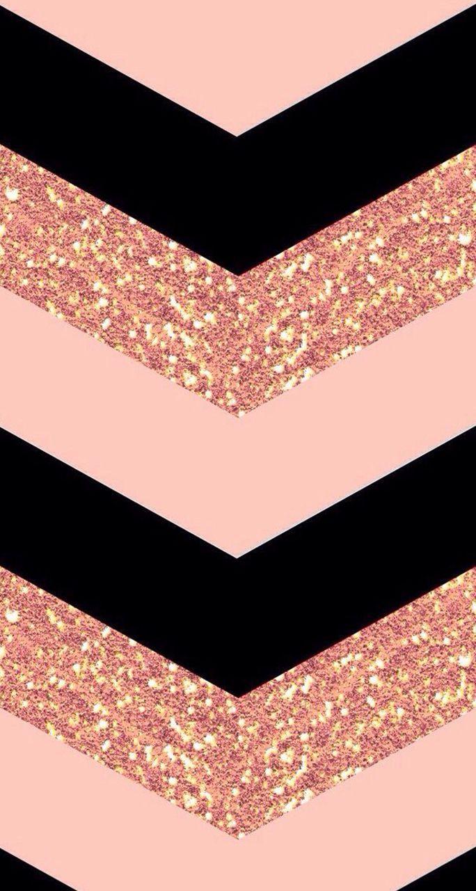 Rose Gold Glitter Wallpaper For Girls Phone