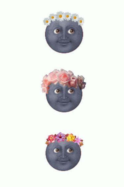 Emoji Background Tumblr Emoji Backgrounds Emoji Wallpaper Iphone Black Moon Emoji