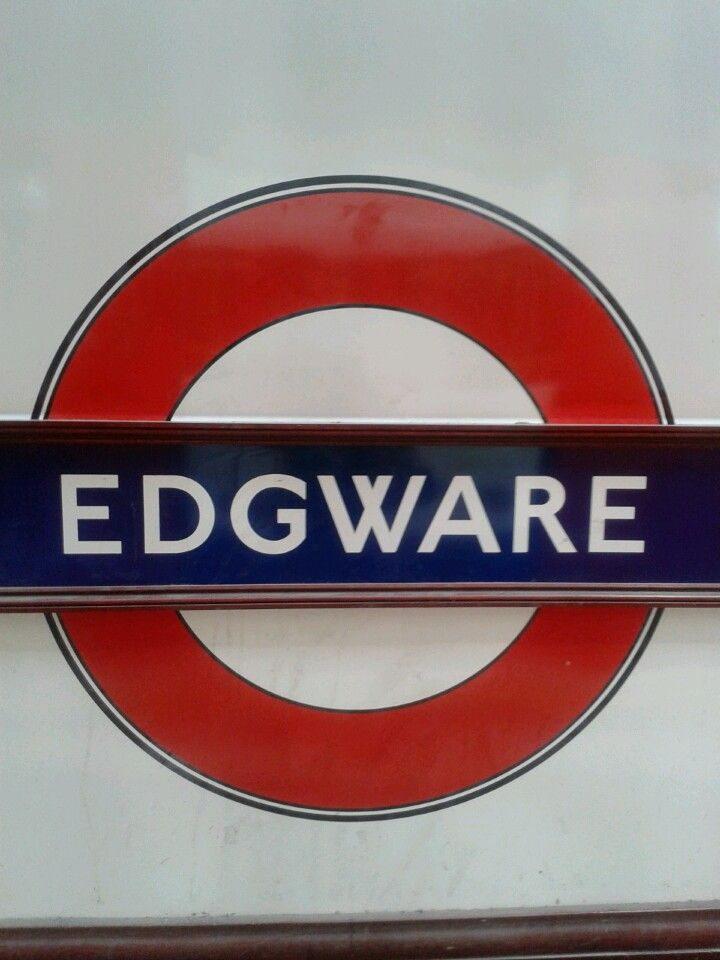 Edgware Tube Station Edgware Barnet London England London