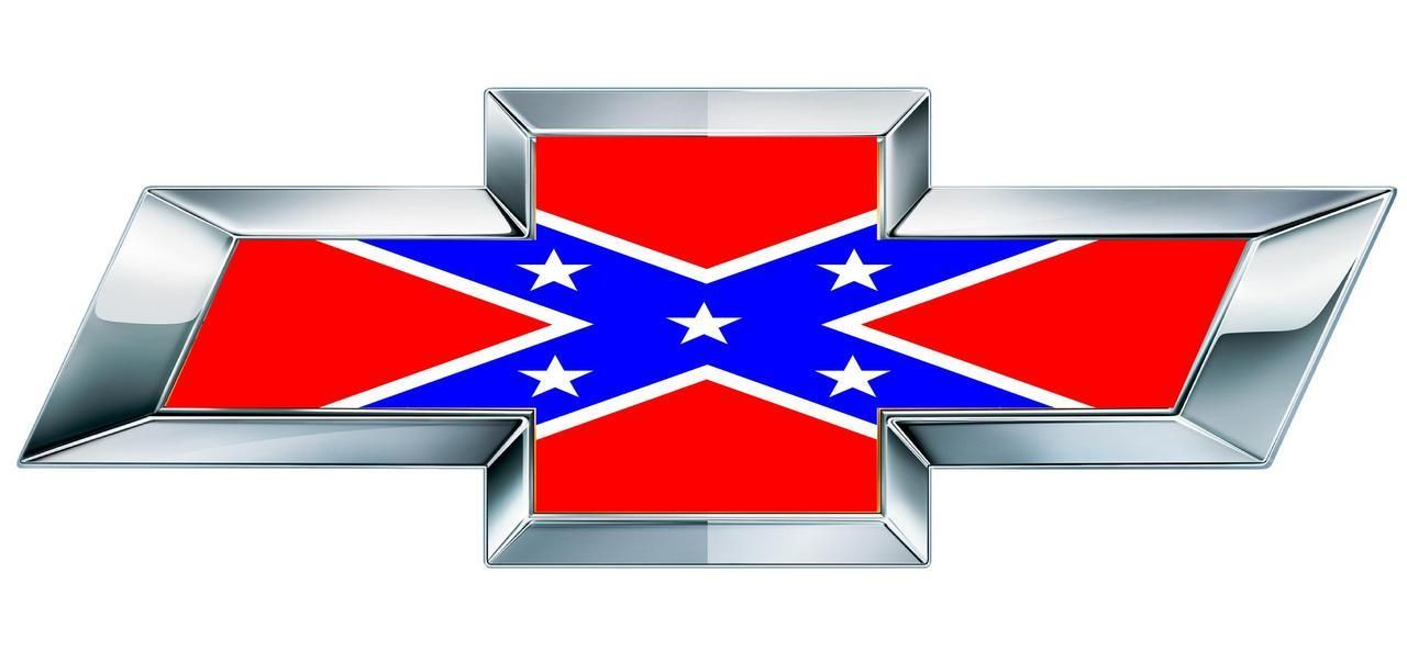 chevy rebel flag chevy bowtie rebel flag emblem overlay. Black Bedroom Furniture Sets. Home Design Ideas