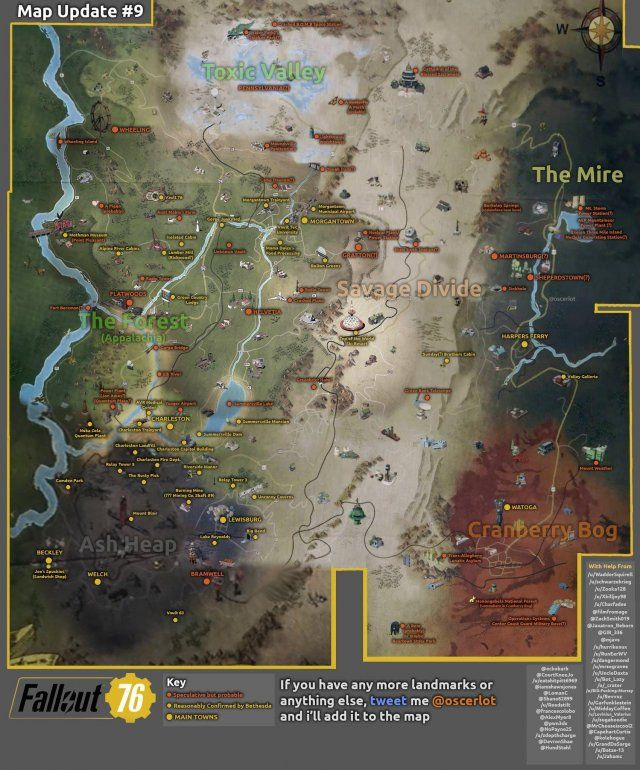 New Vegas World Map.Fallout 76 World Map Fallout 76 Pics Fallout Fallout Game