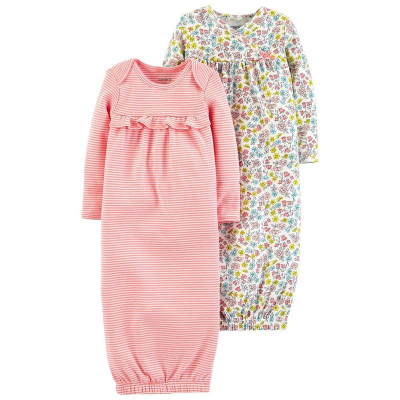 151a522b9 Carter s Little Baby Basics Long Sleeve Nightgown-Baby Girls ...
