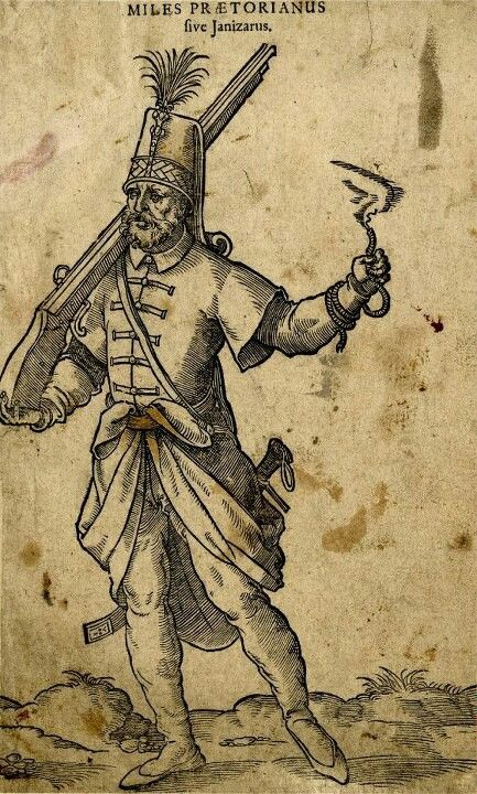 Ottoman janitsary soldier
