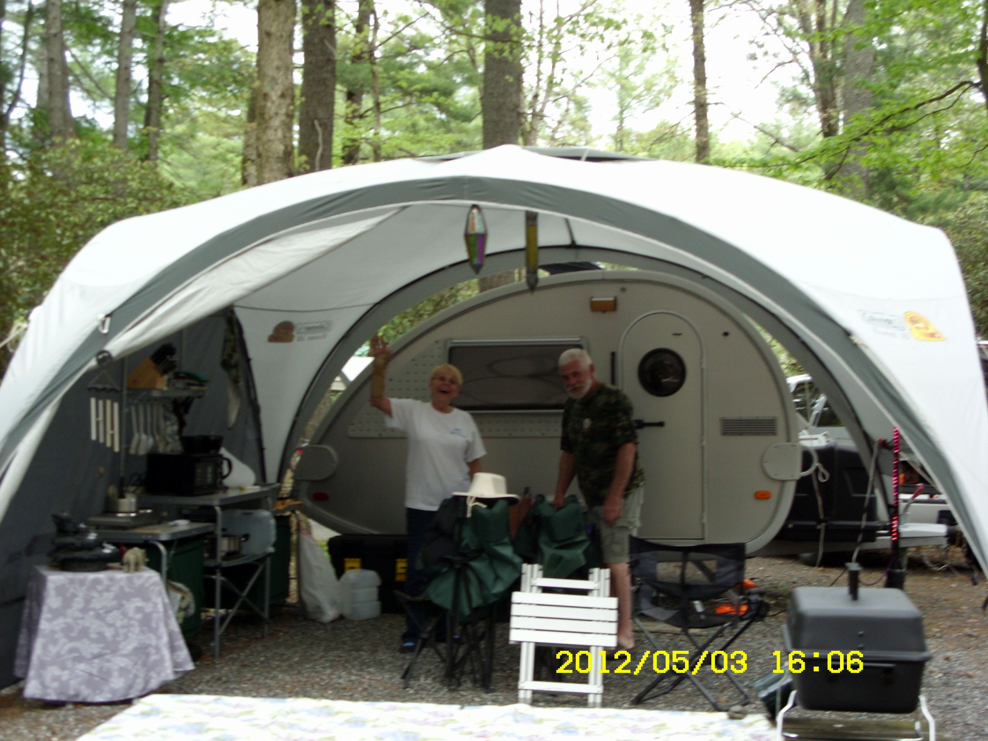 T G Teardrop With Tent Google Search Teardrop Camping