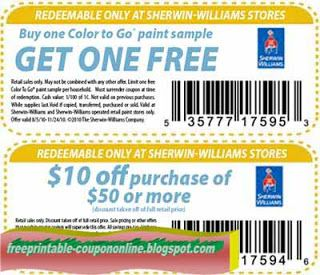 photograph about Sherwin Williams Printable Coupon called Cost-free Printable Sherwin Williams Discount coupons Printable Discount codes