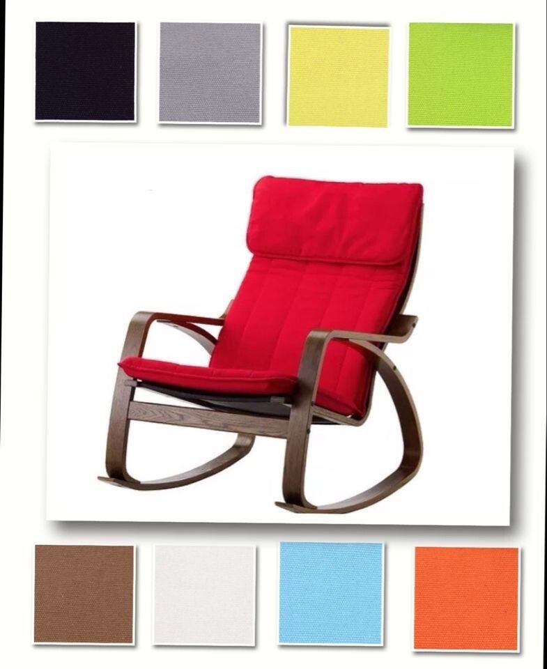 Ikea Replacement Chair Covers Design Old Custom Made Armchair Cover Fits Poang Replace Slipcover Unbranded Contemporary