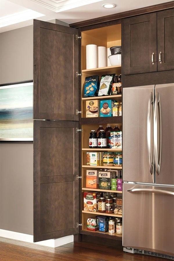 Kitchen Storage Ideas To Get Organized Once - Tall kitchen cabinets, Kitchen cabinets pictures, Kitchen storage, Diy kitchen cabinets, Kitchen pantry, Kitchen pantry cabinets - Getting a kitchen organized and keeping it that way can be an ongoing battle  In order to save time and frust