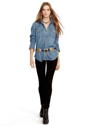 6e4b569a89 Varick Ultra-Skinny Jean - Polo Ralph Lauren Skinny   Legging - RalphLauren .com