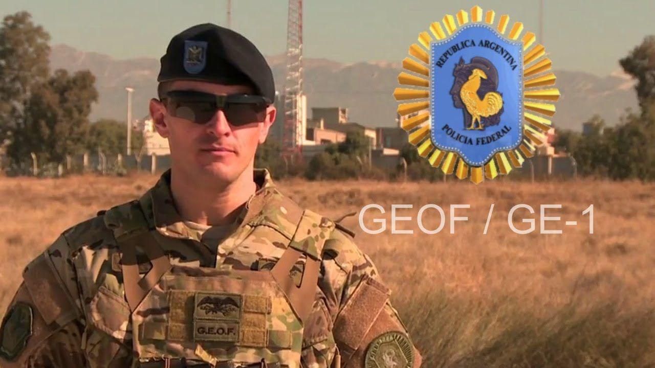 Policia Federal Argentina GEOF y GE-1 2018   Argentine Federal Police Sp.. fd25020b273
