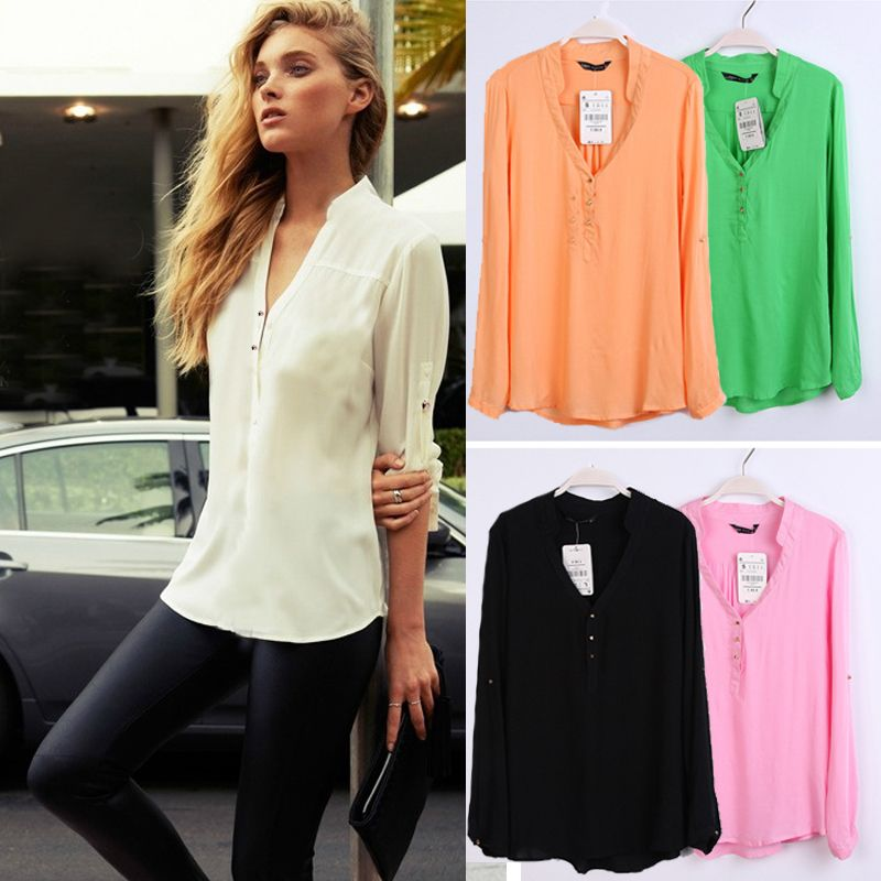 long sleeve summer tops ladies | Gommap Blog
