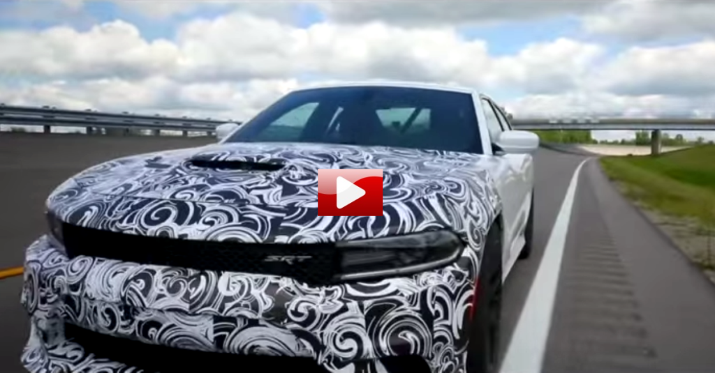 2015 Dodge Charger SRT Hellcat - Top Speed Track test