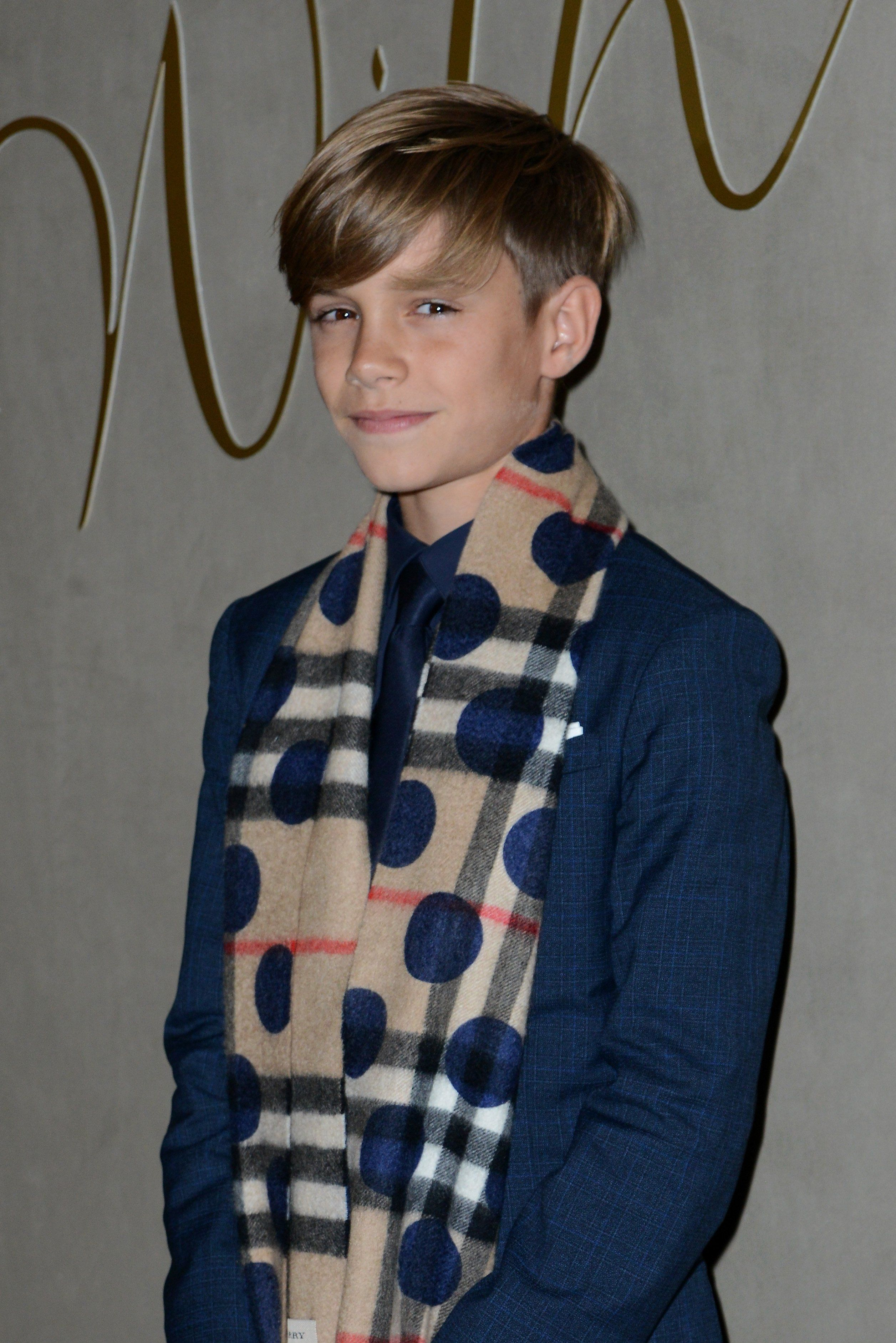 Pictured Romeo Beckham | The Youngest Beckham Boys Look All Grown ...