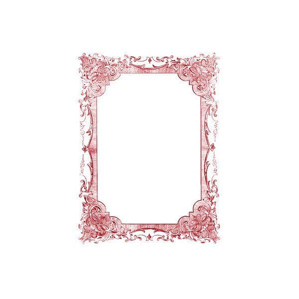 vintage clip art romantic frames