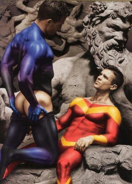 Fantasy gay toon