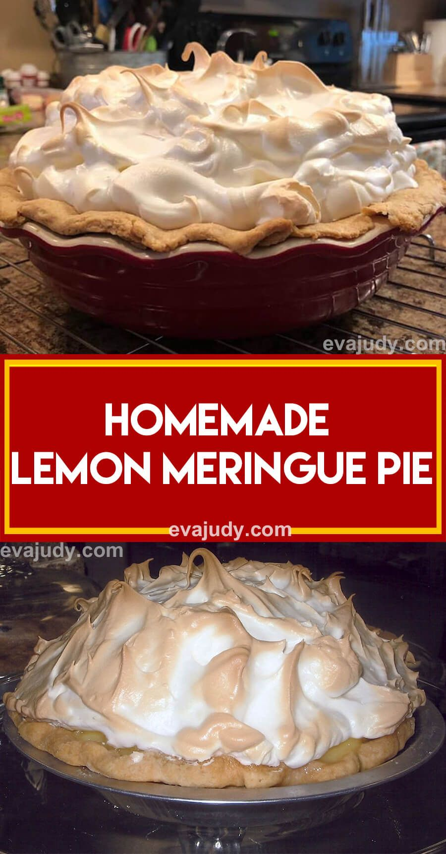 This Classic Lemon Meringue Pie Is Exceptional And Is Absolutely Beautiful To Behold The Lemon In 2020 Meringue Pie Recipes Lemon Meringue Pie Easy Lemon Meringue Pie