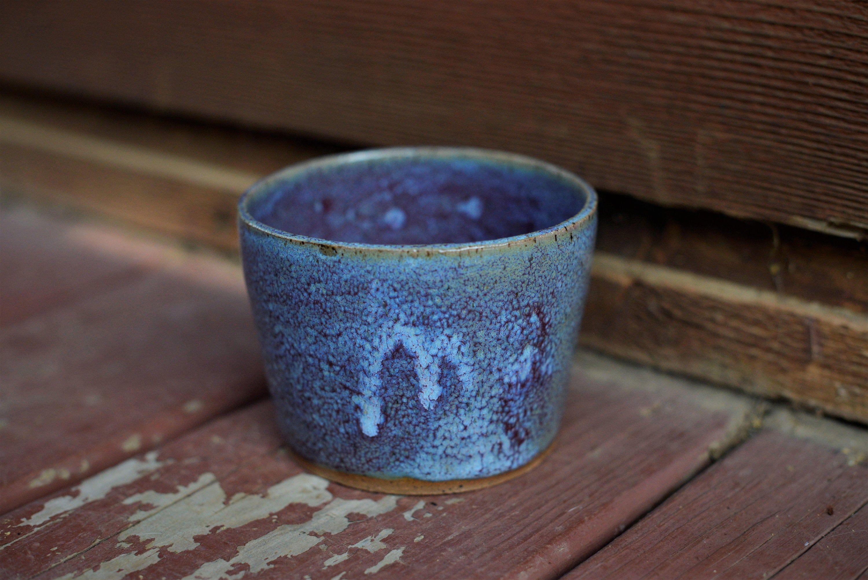 Handmade Ceramic Planter, Wheelthrown Planter, Handmade Planter, Ceramic Planter, Blue and Purple Planter,Medium Planter,Succulent Planter by fernpointpottery on Etsy