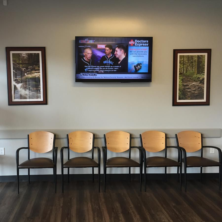 Medical Waiting Area Custom Tv And Digital Signage Custom Tv  # Muebles Neoideas
