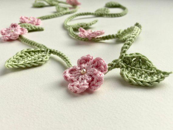 Flower girl crown  crochet vine  flower girl headband  flower girl hair accessor...,  #access... #crownscrocheted
