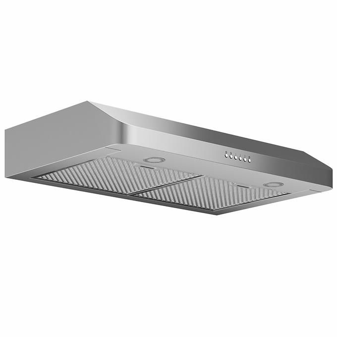 Ancona Sp 30 Range Hood With Led Lights And 280cfm In Stainless