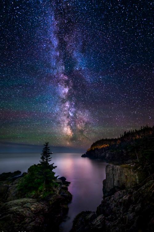 Milky Way Cove Beautiful Nature Night Skies Night Photography