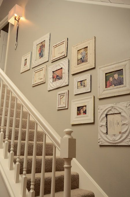 Family Photo Wall My Favorite Family Photo Wall Staircase