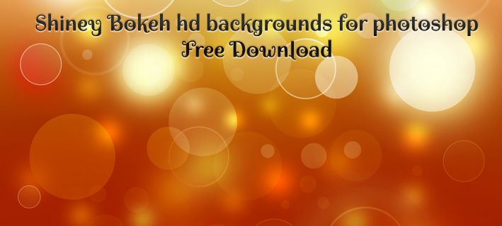 Shiny Bokeh HD Backgrounds for Photoshop Free Download | hd ...