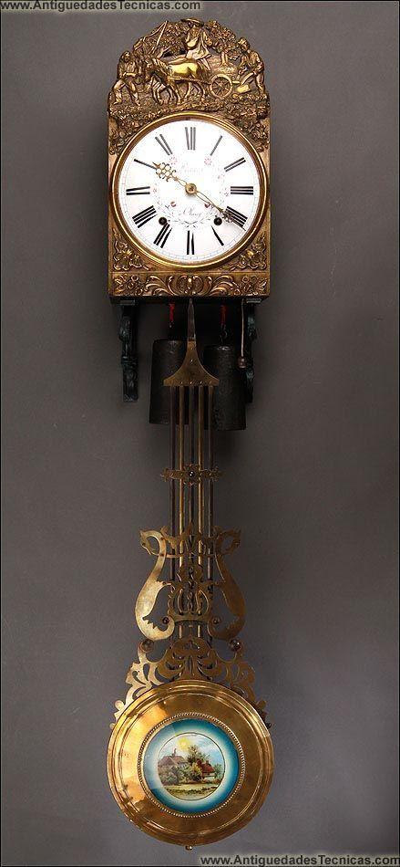 Relojes de pared relojes morez relojes antiguos dream of home pinterest - Relojes pared antiguos ...
