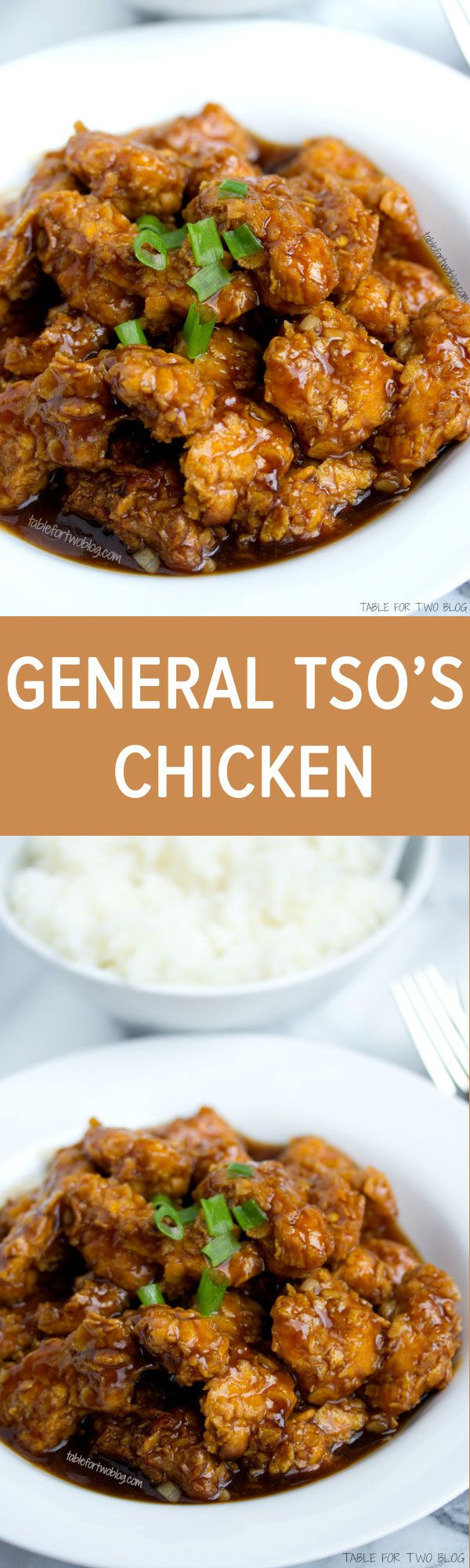 Lightened Up General Tso's Chicken – Table for Two® by Julie Wampler