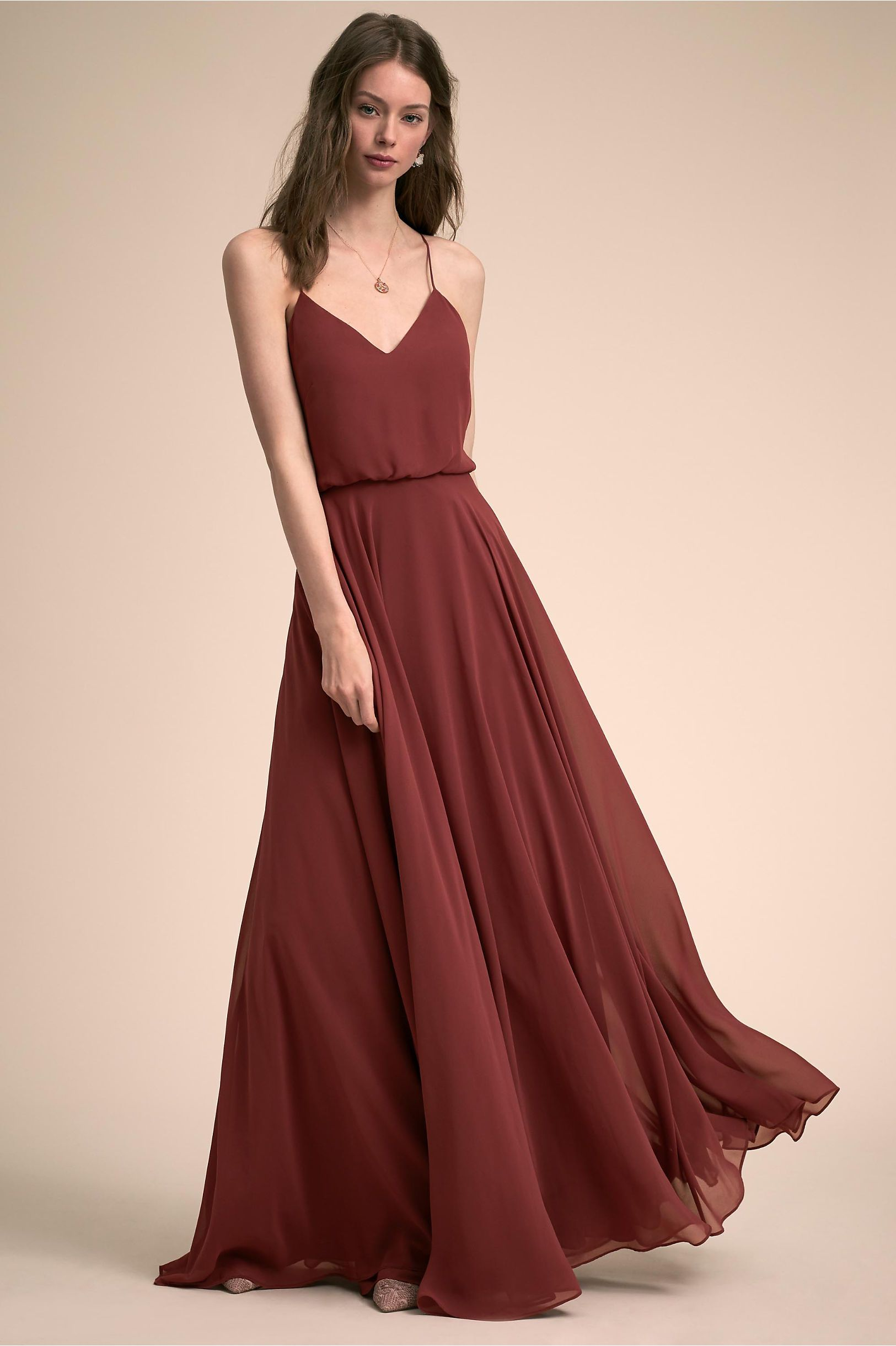 9c190a648a8 Inesse Dress Cinnamon Rose in Bridesmaids   Bridal Party