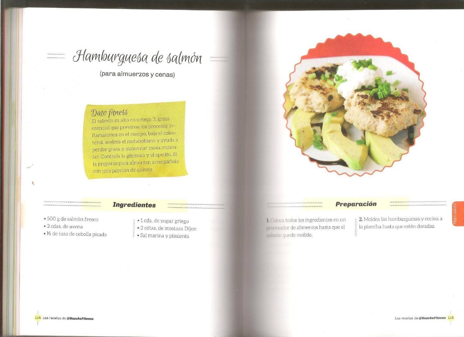 Las recetas de sascha fitness sascha fitness recetas