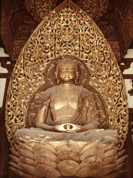 www.school.edu.ru :: Дзётё. Будда Амида период Хэйан, 1053 ...