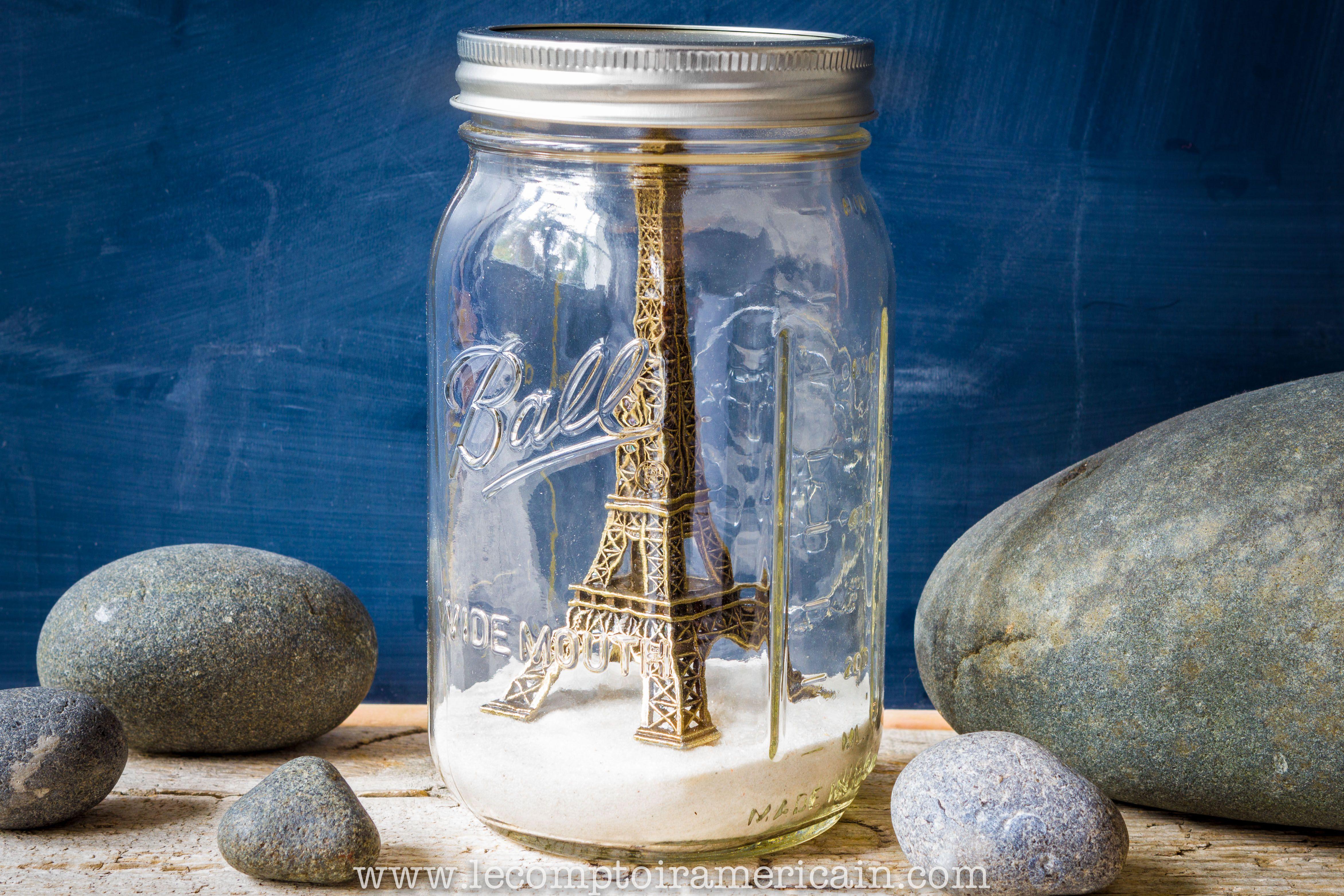 Idee Cadeau A Paris.Paris In A Mason Jar Mason Jar Ball Americanproduct