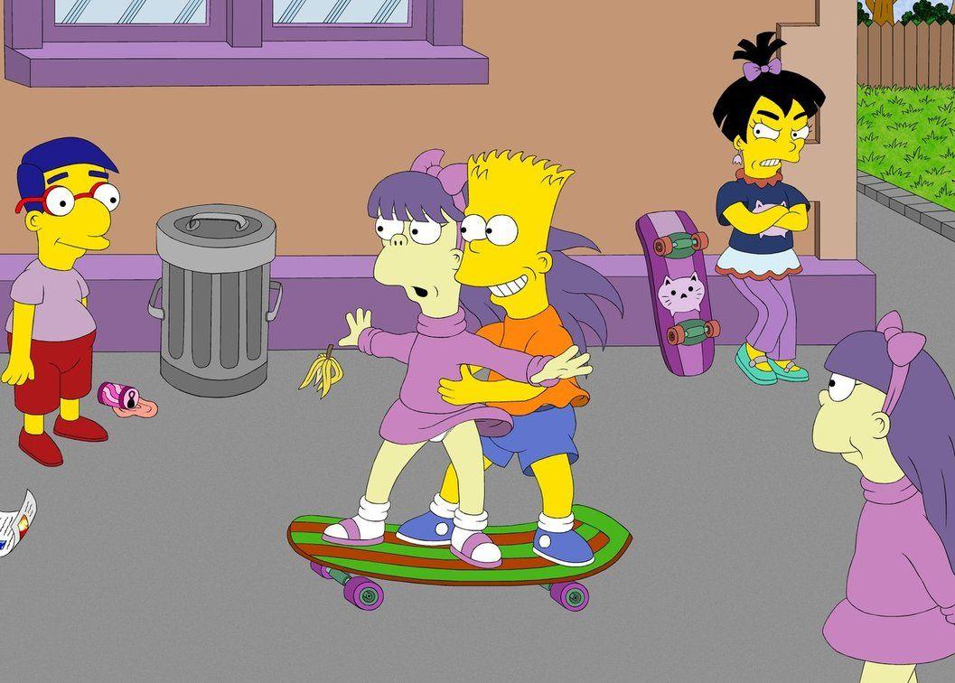 Pensions le ons par magik2005 bart et terri lisa simpson bart simpson et lisa - Bart et milhouse ...