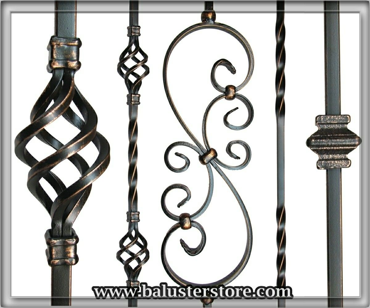 We Sell High Quality Iron Stair Balusters And Accessories For