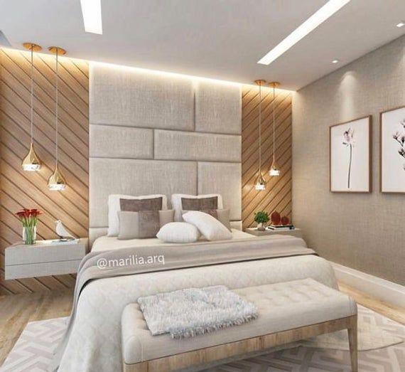 Panneaux De Mur Rembourres Disperses Chambres A Coucher