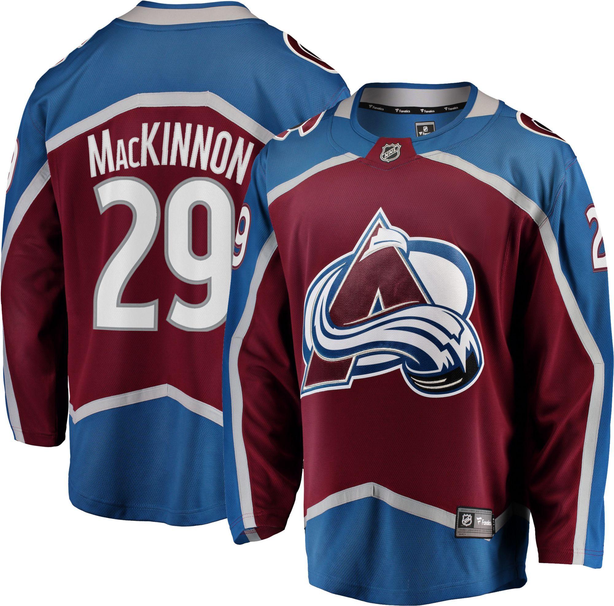 NHL Men s Colorado Avalanche Nathan MacKinnon  29 Breakaway Home Replica  Jersey 4084ba080