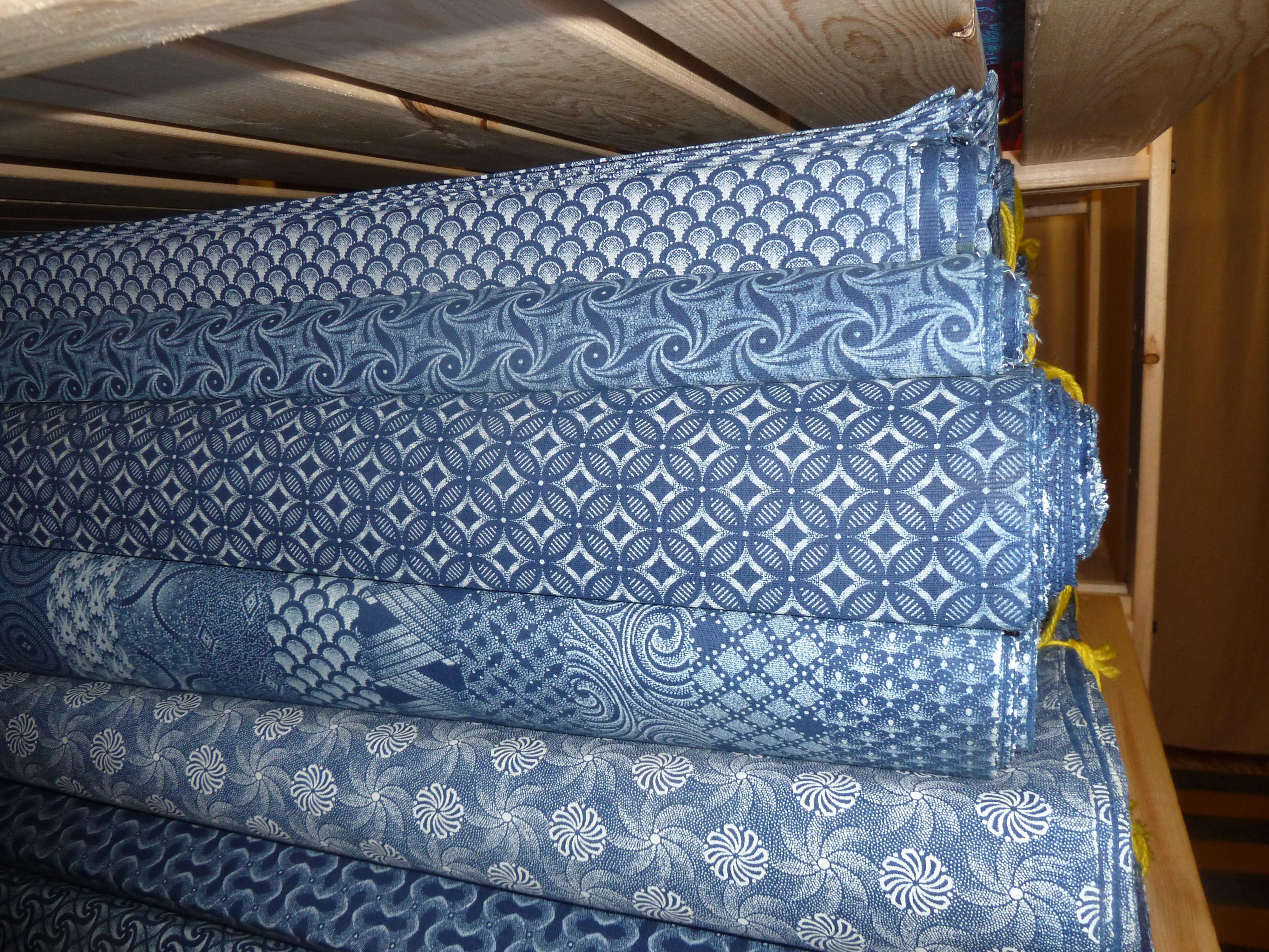 Wholesale Orders Fabric stores online, Indigo textiles