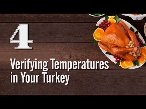 4: Verifying Temperatures in Your Turkey |
