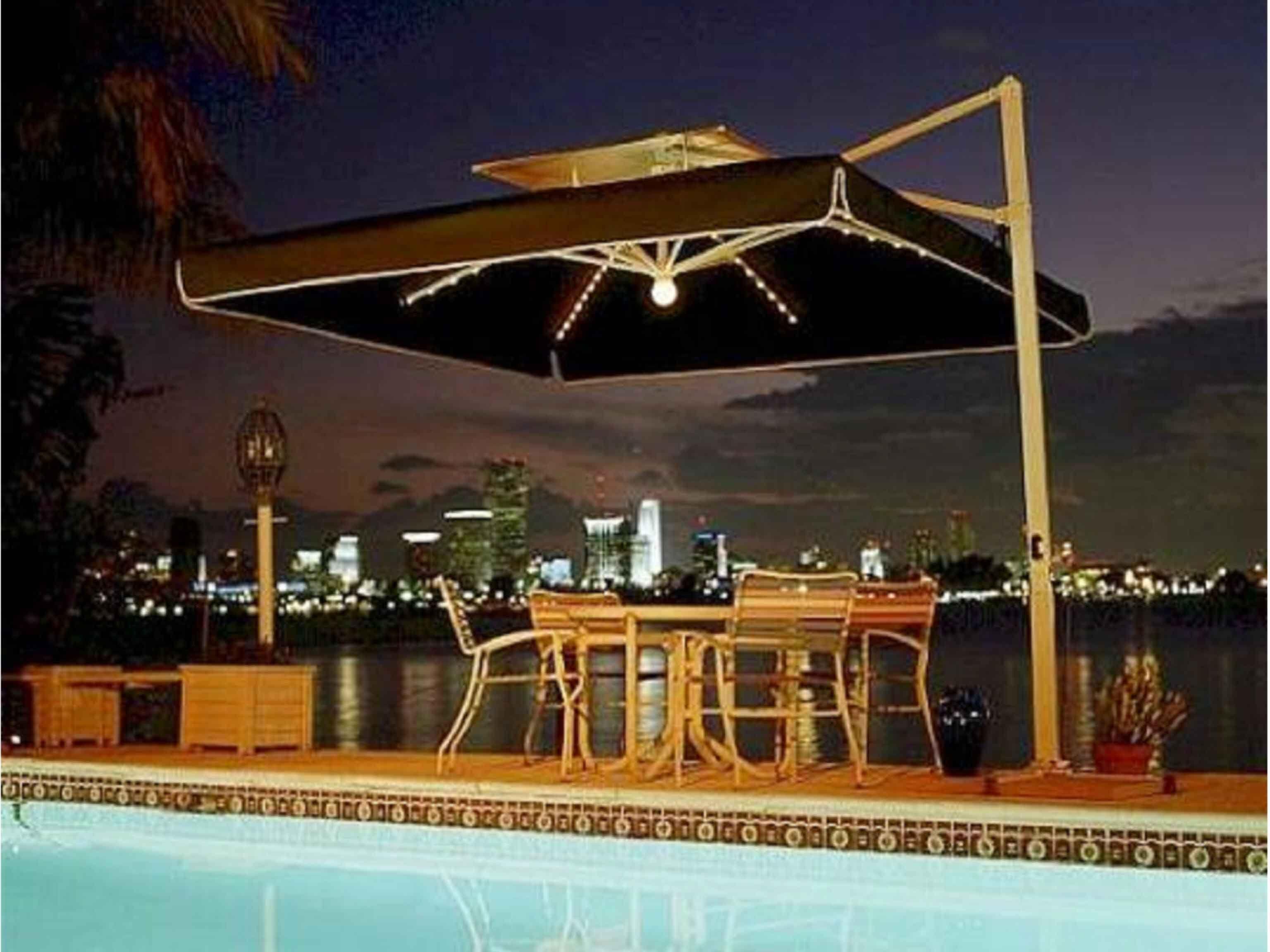The 25+ Best Umbrella For Patio Ideas On Pinterest | Deck Umbrella, Patio  Umbrella Lights And Backyard Pool Landscaping