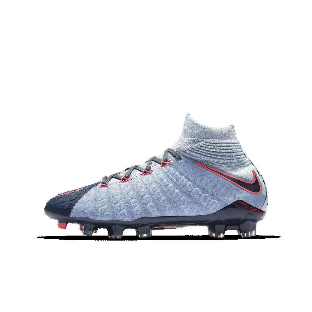 11dde3f6c Nike Hypervenom Phantom 3 DF FG Big Kids' Firm-Ground Soccer Cleats Size