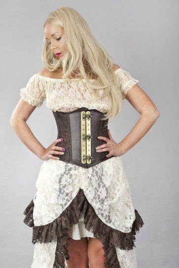 07bf051b51b Vintage underbust corset