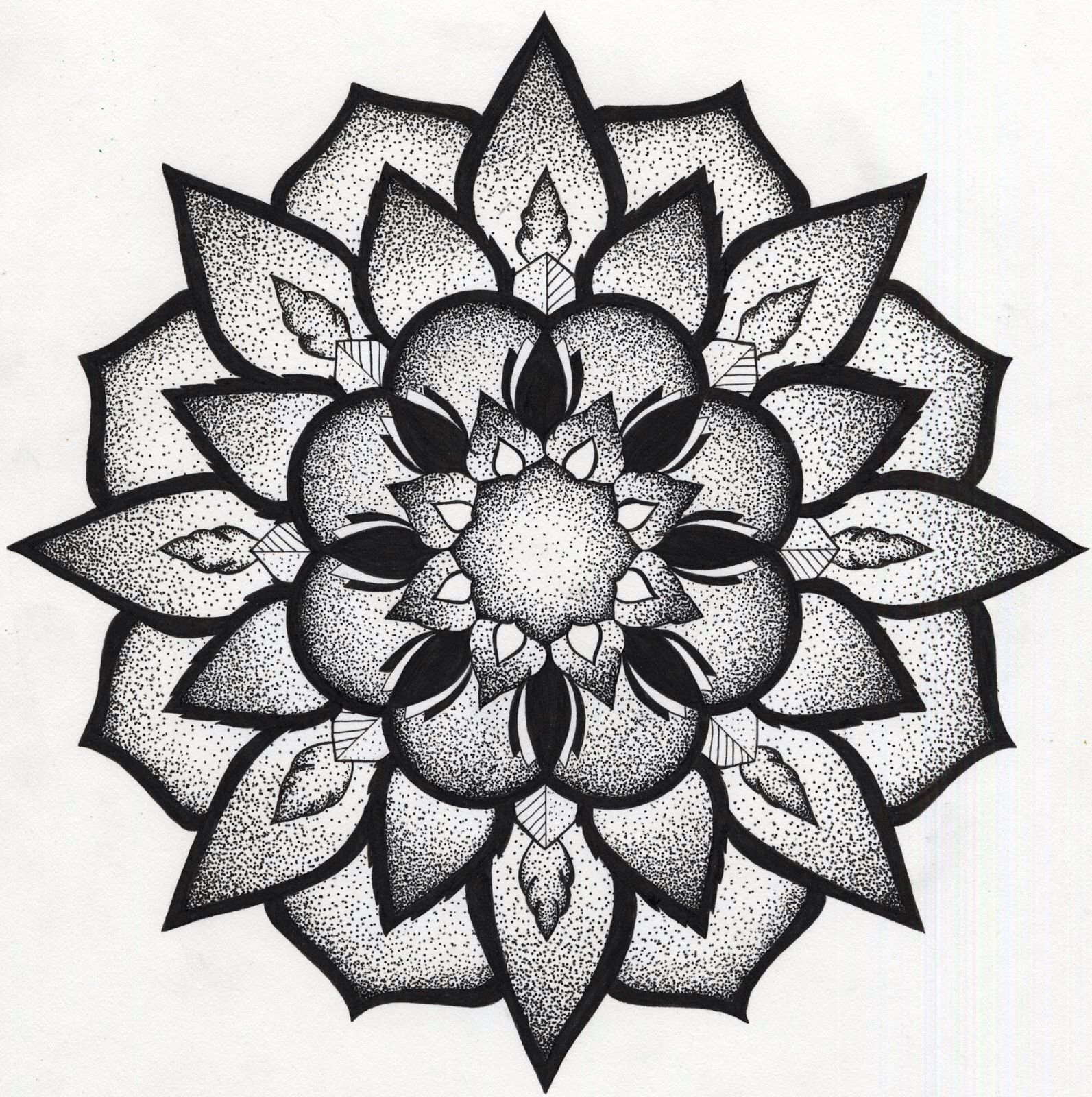 35 Spiritual Mandala Tattoo Designs: Tatouage, Tatouages