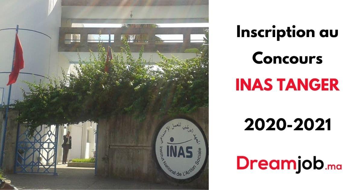 Inscription Au Concours Inas 2020 2021 Dreamjob Ma Administration Publique Inscription Concours Examen Oral
