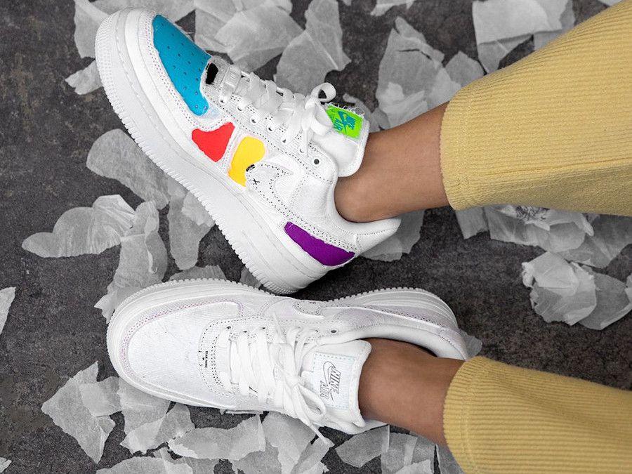La Nike Wmns Air Force 1 07 LX 'Reveal' Multicolor (CJ1650 101 ...