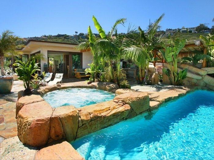 160 Tolle Bilder Von Luxus Pool Im Garten Pools Pinterest