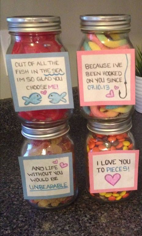 Iloveyou Gift With Candy Gifts For Girlfriend Boyfriend
