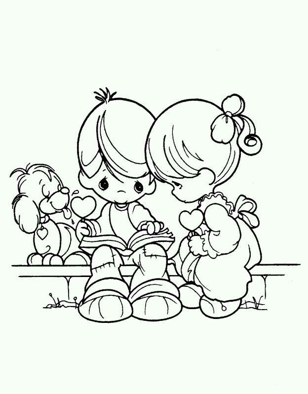 Pin By What I Like On Coloring Picture S Precious Moments