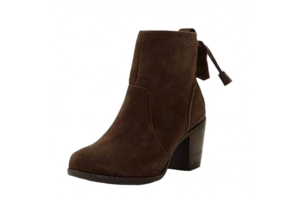 Black dress ankle boots hush